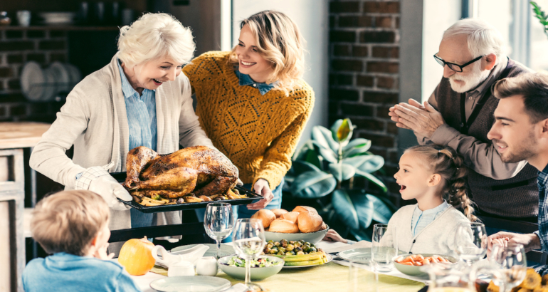 3 Ways to Get The Whole Family Involved This Thanksgiving