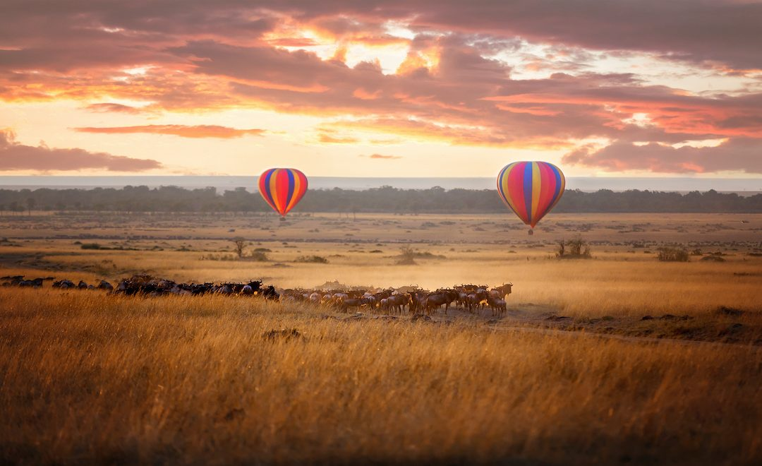 Three of the Most Beautiful Hot Air Balloon Locations