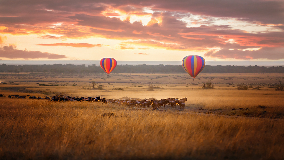 Africa Hot Air Balloon Locations